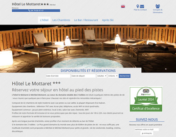 creation de sites hoteliers